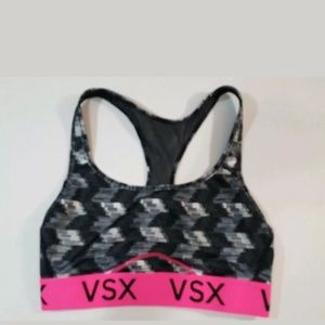 Victoria's Secret VSX Sports Bra Racerback Small
